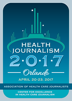 logo for AHCJ 2017 conference