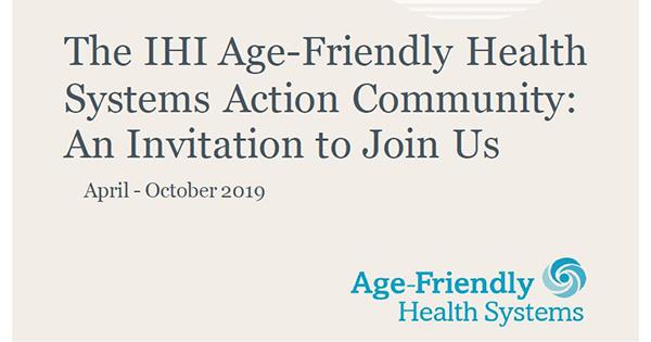 AFHS Action Community Invitation