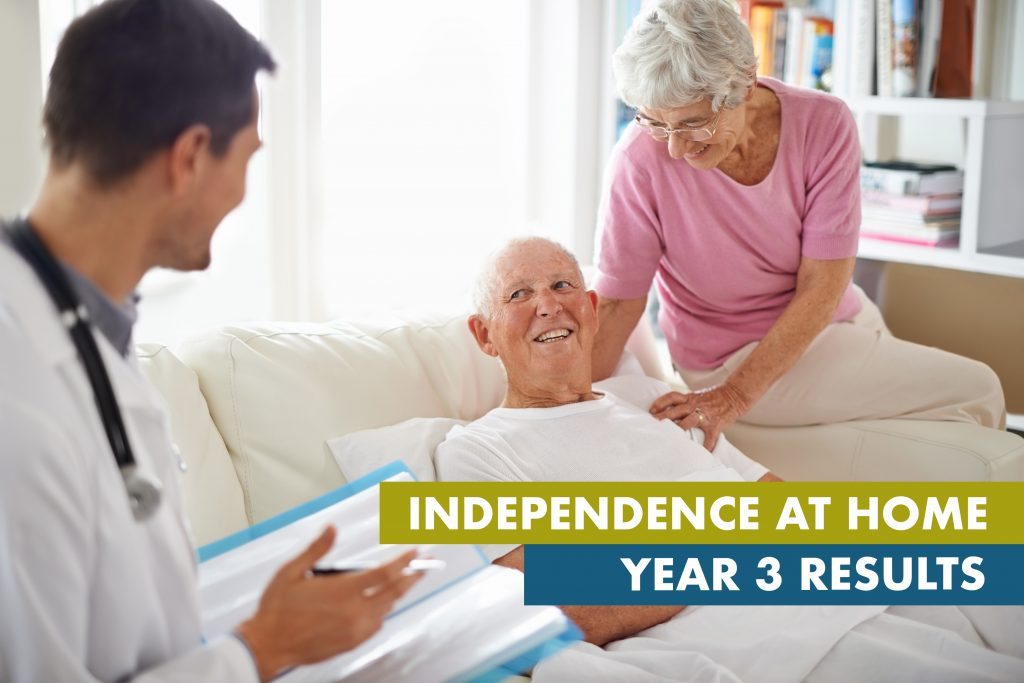 Independence At Home Year 3 Results